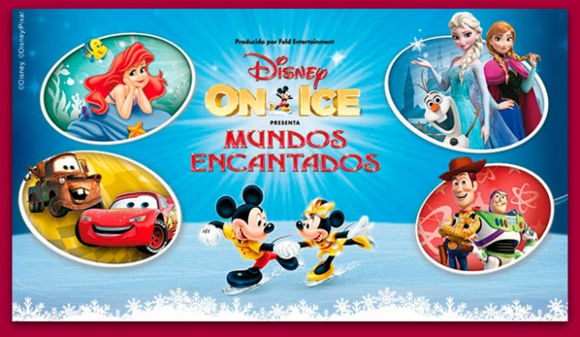 "Disney On Ice ""Mundos Encantados"""