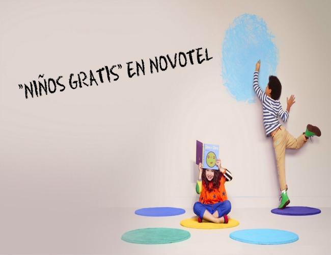 """Alojamiento gratuito para niños en """"Novotel"""""""