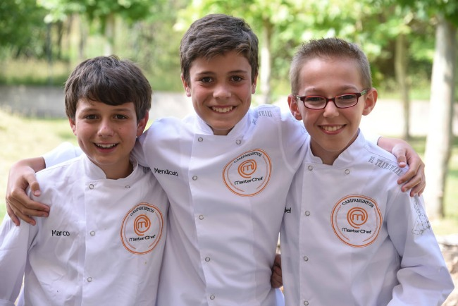 CAMPAMENTO MASTERCHEF JUNIOR 2016